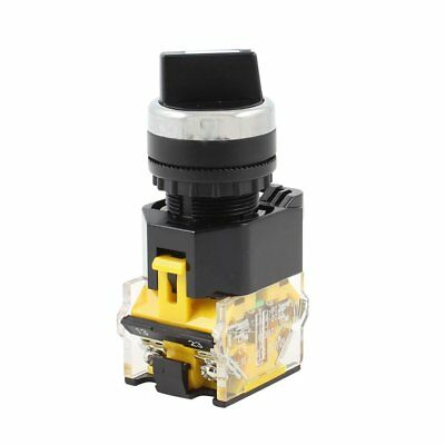 AC 380V 10A 1NO 1NC DPST 3 Position Rotary Selector Latching Rotary Switch