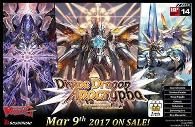 Divine Dragon Apocrypha Booster Box BT14 Cardfight Vanguard English G 16 packs!