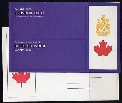 Weeda Canada VF 1969 Annual Souvenir Card #11 in original envelope CV $10