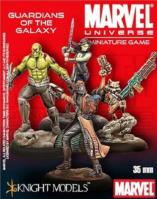Marvel Universe Miniature Game: Guardians of the Galaxy Starter Set