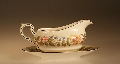 """Paragon """"Country Lane"""" Gravy Boat and Underplate, England c. 1972"""