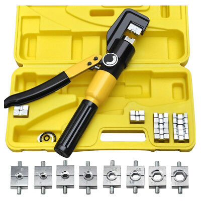 Heavy Duty 4-70mm 8T Manually Hydraulic Crimper Crimping Tool FP