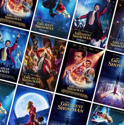 THE GREATEST SHOWMAN Movie Posters Prints - A4 - A3 - A2 - Hugh Jackman