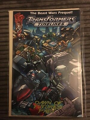 Transformers Timelines 1 Vol 2 Dawn of Futures Past (2006)