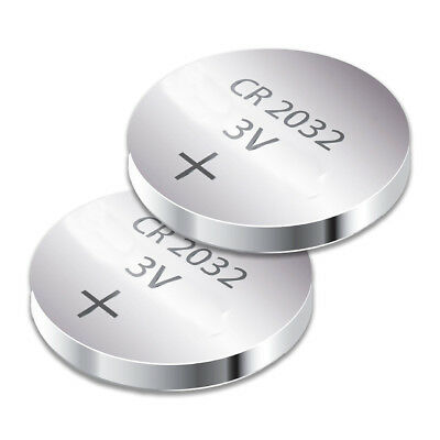 CR2032 Battery DL2032 CMOS 371LM Lithium 3V Watch Battery /car remote (2 Pack)