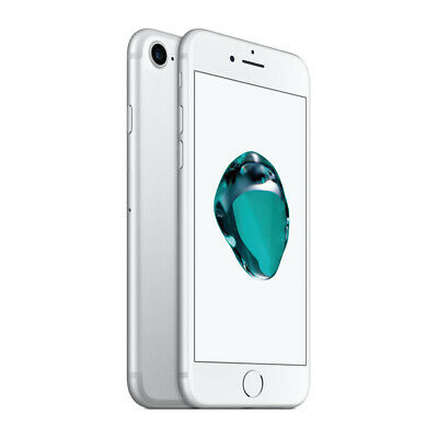 Apple iPhone 7 32GB Factory Unlocked - Silver Smartphone A1660 32 GB LTE