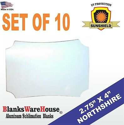 """NORTHSIRE , SUBLIMATION BLANK, DOUBLE SIDED, MAGNET -  2.75"""" X 4"""" - Lot of 10"""