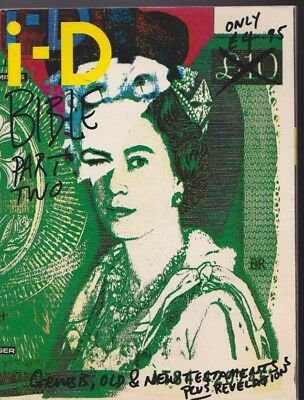 Id i-d Magazine RARE Id Bible The best of. The Queen Cover. Part 2