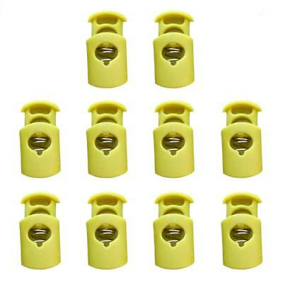 Pack of 10pcs Barrel Cord Lock Toggle Stopper for Paracord/ Bungee Cord