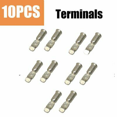 10 x 50Amp Copper Terminals Connector For 50a Power Style Plugs Contacts OZ
