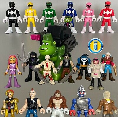ALL IMAGINEXT FIGURES Series Power Rangers Action Heroes. Loose *Please select*