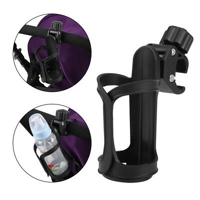 Universal Black Baby Stroller Pushchair Organizer 360 Degrees Cup Holder Buggy