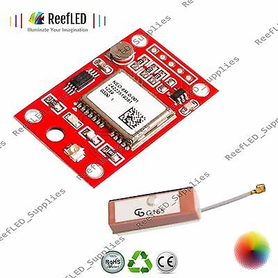 5GY-NEO6MV2 NEO-6M GPS Module Board with Antenna for Arduino UK