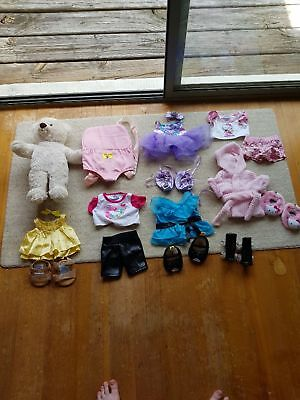 build a bear and  accessories bundle