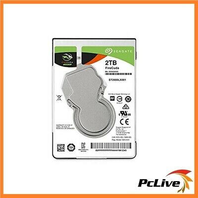 Seagate FireCuda 2.5'' 2TB SSHD Hard Drive SATA NAND High Performance Gaming PS4