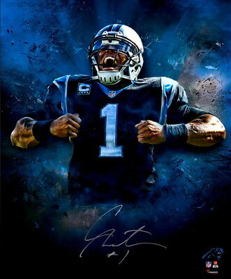 "067 Cam Newton - Carolina Panthers NFL Player 14""x16"" Poster"