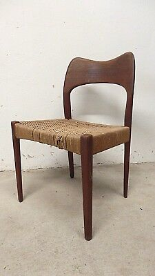 60er teak stuhl neubezug danish 60s chair new upholstery. Black Bedroom Furniture Sets. Home Design Ideas