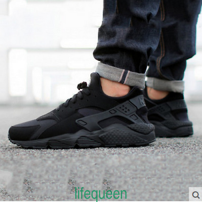 Mens Run Air Huaraches Ultra / BR Mens Running Shoes Trainers Sneakers Triple