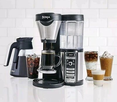 Ninja (CF081 69) Coffee Bar Bundle With Glass Carafe, Frother used a dozen times