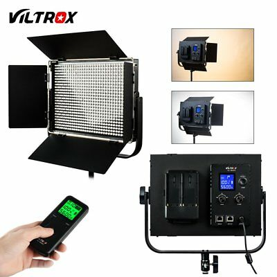 Viltrox VL-D60T Studio LED Video Light Bicolor Dimmable LCD remote control