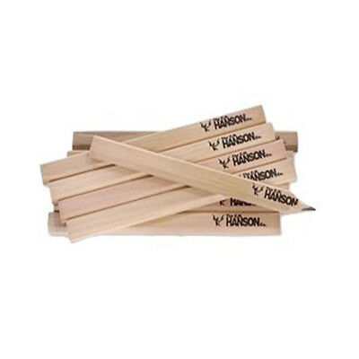 CH Hanson 10380 Medium Lead Carpenter Pencils - 72 PC