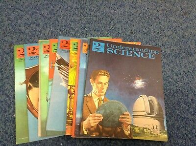 12 x Understanding Science Vintage Magazines No 7-12 and 25 to 30