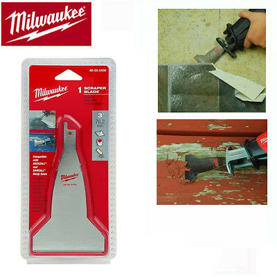 MILWAUKEE Spachtel Schaber Klinge 75 mm passend für MAKITA JR 3050 / 3060 / 3070