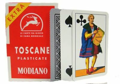 Modiano Toscane Italian Deck Of Playing Cards Briscola Scopa Tresette Italy