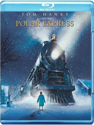Polar Express Con Tom Hanks (Blu-Ray) Nuovo, Italiano, Originale