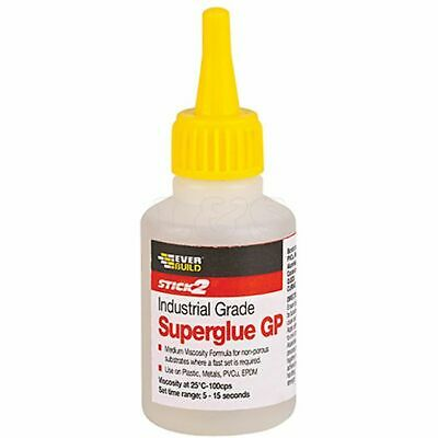 Industrial Superglue General Purpose 20g by Everbuild - CYN20