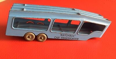 MATCHBOX CAR TRANSPORTER ACCESSORY PACK No 2 TRAILER MADE IN ENGLAND BY LESNEY