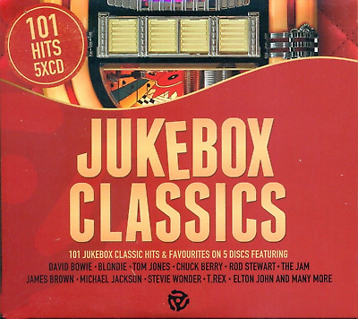 101 Jukebox Hits - Various Artists 5CD Boxset Now Available