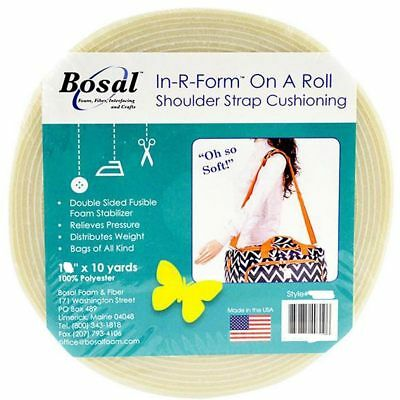 "Bosal In R Form Shoulder Strap Cushioning Full Roll 1"" x 10 Yards (25.4mm x 9m"