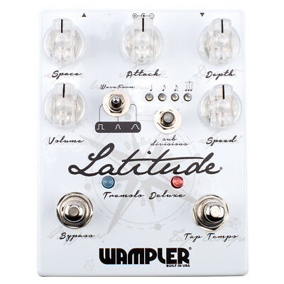 Wampler Latitude Deluxe Tremolo Pedal Made in USA NEU NEW