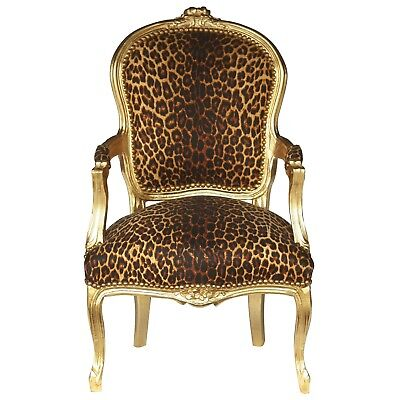 Bedroom Design Accent Chair, Leopard / African print