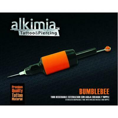 Tubo Con Aguja Desechable Esterilizado Grip Bumblebee Disposable ALKIMIA 20 UN