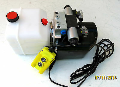 12 VOLT HYDRAULIC PUMP HYDRAULIC PUMP FOR Double Action Cylinder