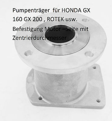 Honda Bellhousing Petrol Engine Bg 2 Pump Shaft D 19,05/L 62 MM