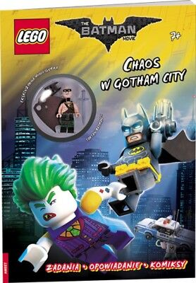 LEGO BATMAN MOVIE CHAOS W GOTHAM CITY - praca zbiorowa