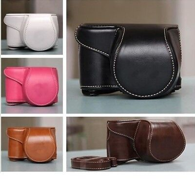 Vintage leather Camera Bag Case Cover Pouch for A5000 A5100 A6000 A6300