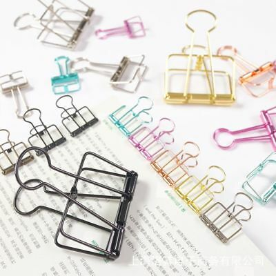 New Metal Office Home Paper Organizer File Clips School
