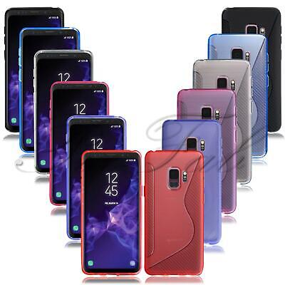 For Samsung Galaxy S9 & S9 Plus New Ultra Thin Clear Gel Rubber Phone Case Cover