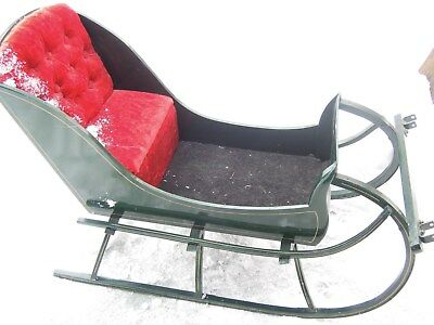 cp-858  Wood SLEIGH for child or large doll for Christmas/Winter Display/ride