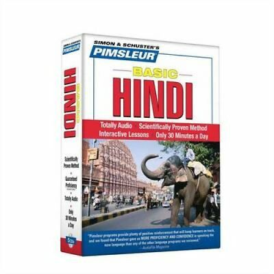 Hindi, Basic by Pimsleur 9780743552561 (CD-Audio, 2006)