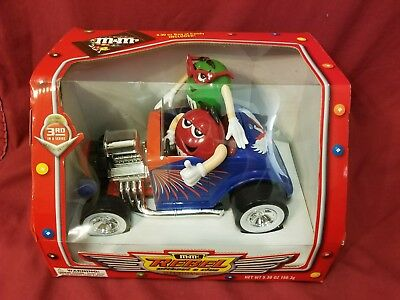 M&M Rebel Without a Clue Dispenser RARE BLUE and RED Ford Roadster NIB