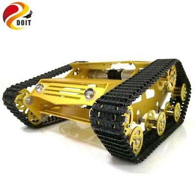 Y100 Robot Tracked Tank Car Chassis with Aluminium Alloy Frame and Wheel