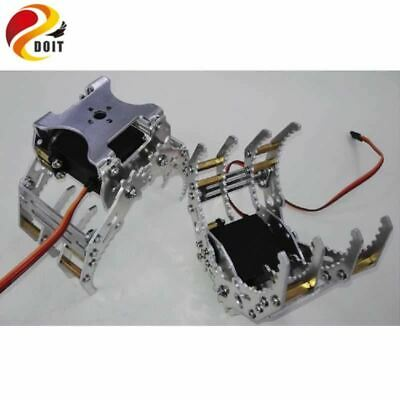 Robot metal clamp gripper Robotic hand finger fingers Paw Mechanical