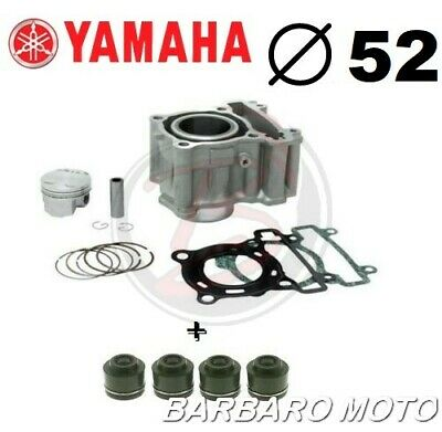 KIT CILINDRO GRUPPO TERMICO PISTONE YAMAHA YZF R125  DAL 2008 A 2017 52mm. R 125