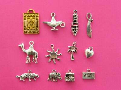 Redneck Charm Collection Antique Silver Tone 12 Different Charms COL152