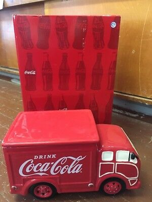 Coca Cola Coke Red Delivery Truck Cookie Jar by Westland 24811